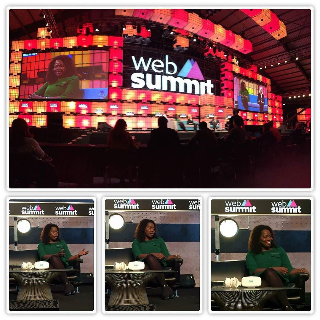 An awesome Virtual Reality pic! #maryspio presenting on future of virtual reality and healthcare on Centre Stage at the #websummit2015  in #dublin #ireland . Largest tech conference with over 30000 attendees from over 100 countries. Making us all proud... #nextgalaxycorp #vr #virtualreality #technology #healthcare #ceek #ceekars by african.celebs check us out: http://bit.ly/1KyLetq