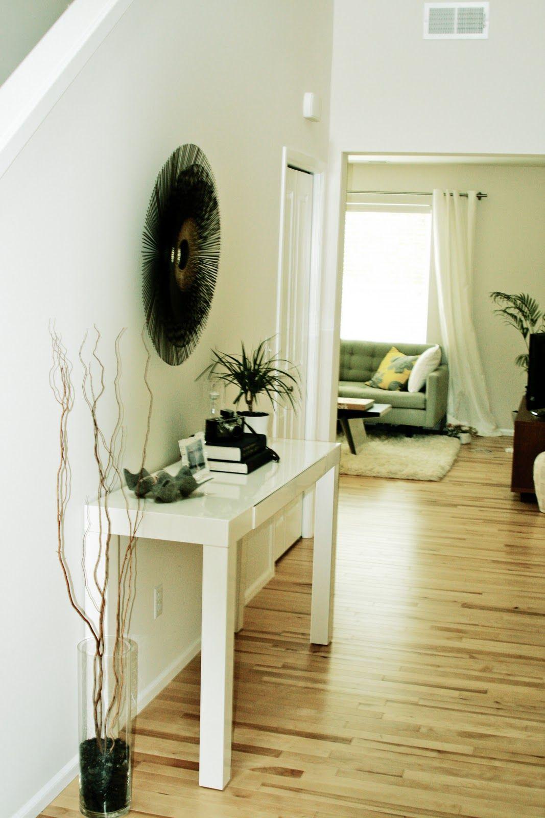 Enchanting Light Wood Floor Feat Glass Vase