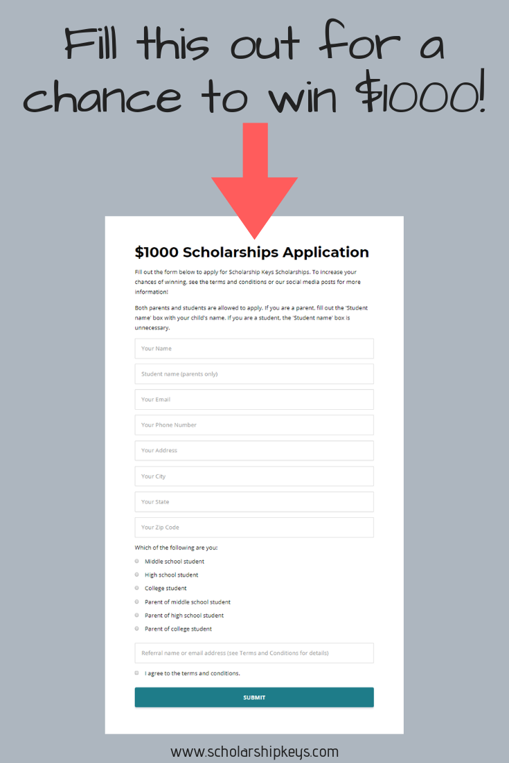 Free Applications For College Grants