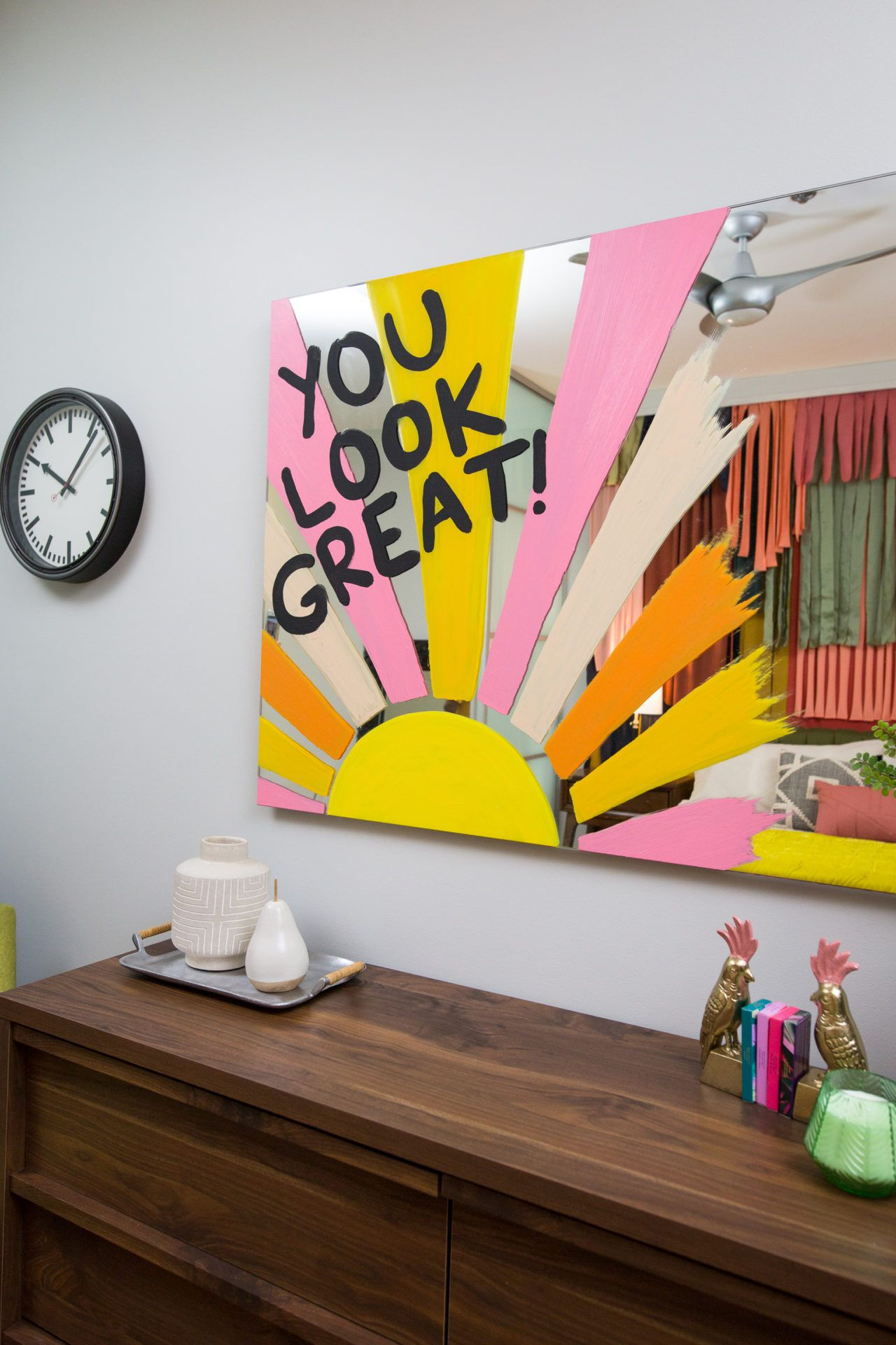 Photo of DIY Painted Mirror