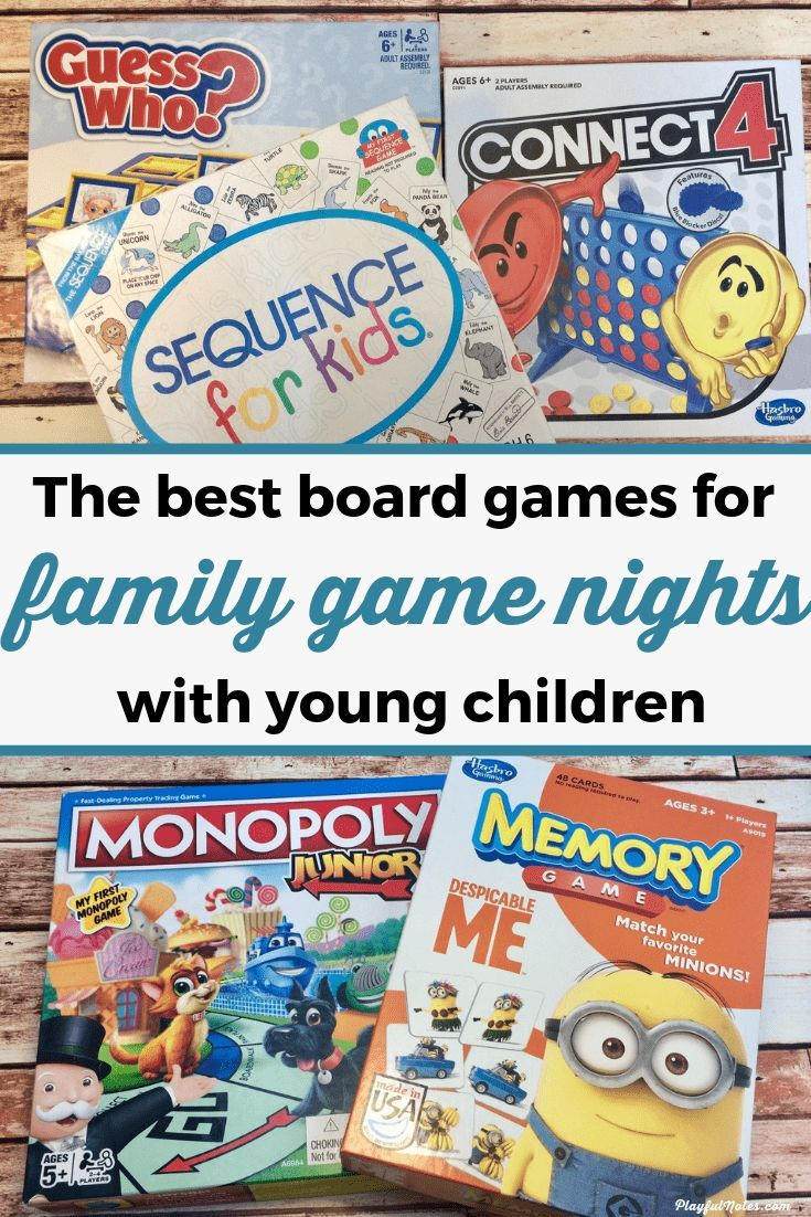 10 of the best board games for preschoolers that will