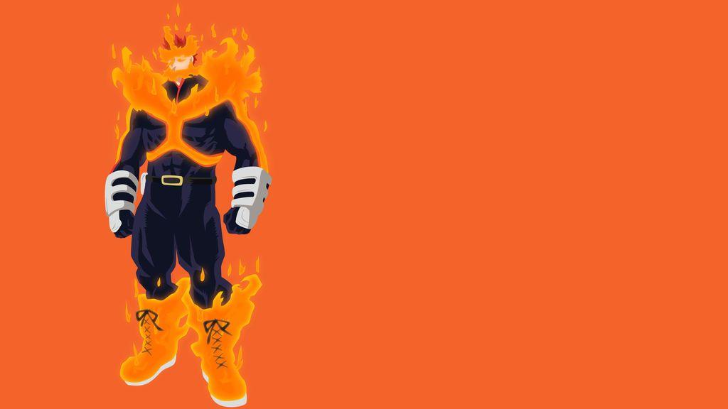 My Hero Academia Endeavor By Vk For Da Win My Hero Academia Anime Hero Wallpaper