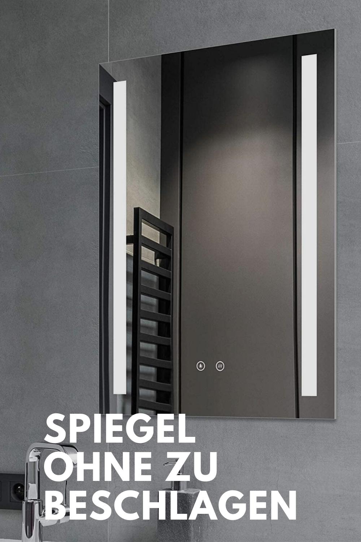 Spiegel Ohne Zu Beschlagen Badezimmer Spiegel In 2020 Badezimmerspiegel Badezimmer Badspiegel