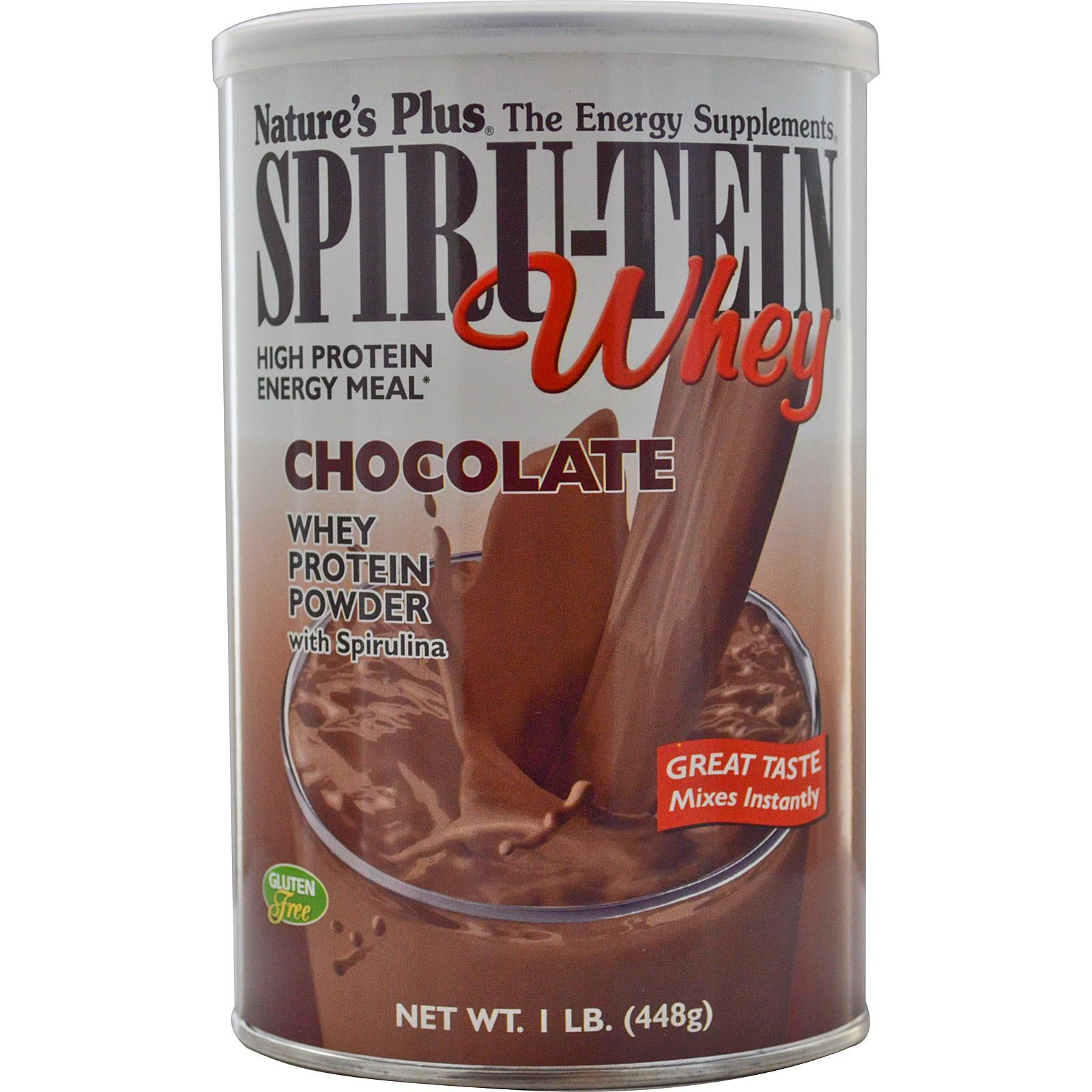 Nature's Plus, SpiruTein Whey, High Protein Energy Meal