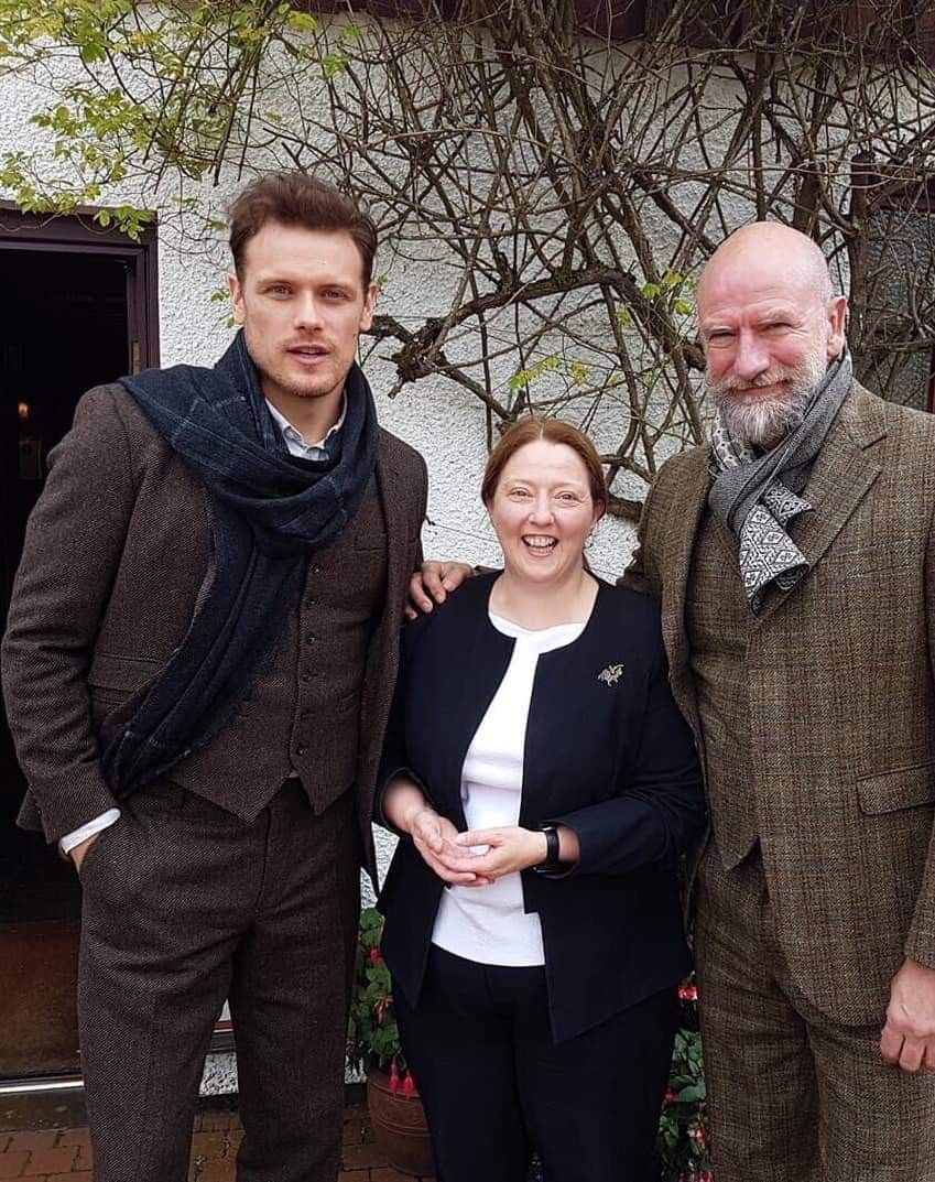 Sam Heughan And Graham Mctavish Traveling The Highlands Doing Research For Their Clanlandspo Sam Heughan Outlander Sam Heughan Caitriona Balfe Outlander Jamie