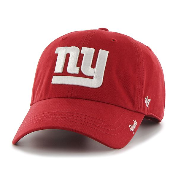 1983a280 New York Giants Miata Clean Up Red 47 Brand Womens Hat | 47 Brand ...