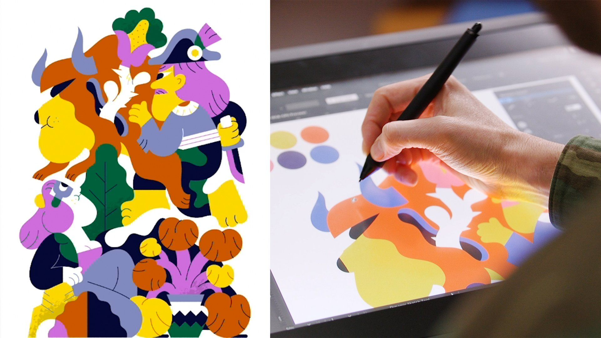 Vector Illustration Using Creative Constraints To Find Your Style