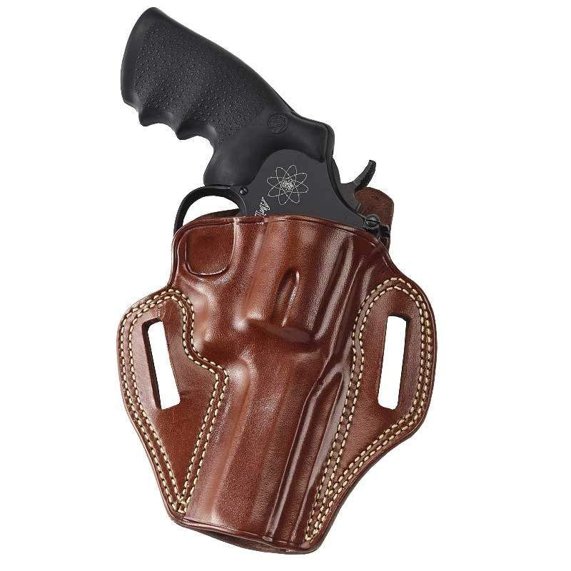 Tan RH 6-inch Galco Dual Action Outdoorsman Holster for S/&W N-Frame