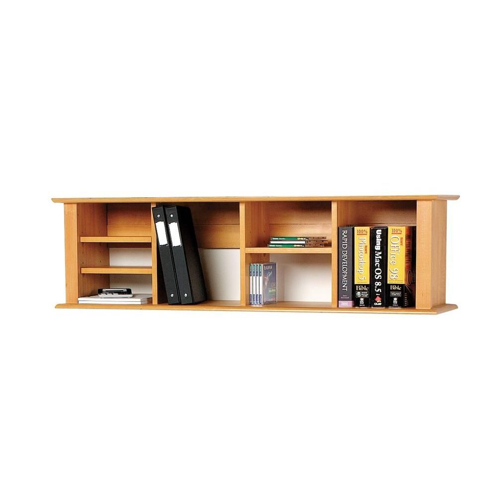 prepac wall mounted hutch in maple mhd 1348 the home depot rh pinterest com