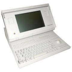 Rare Vintage Macintosh Portable Computer, as New, Complete, Designer Icon Piece