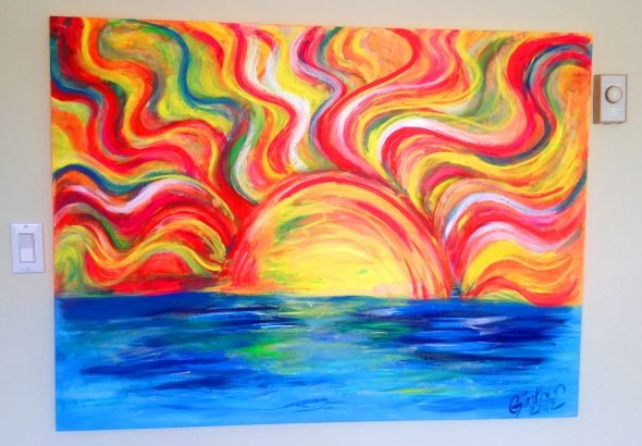 Pin By Toniwhateven On Color Painting Canvas Art