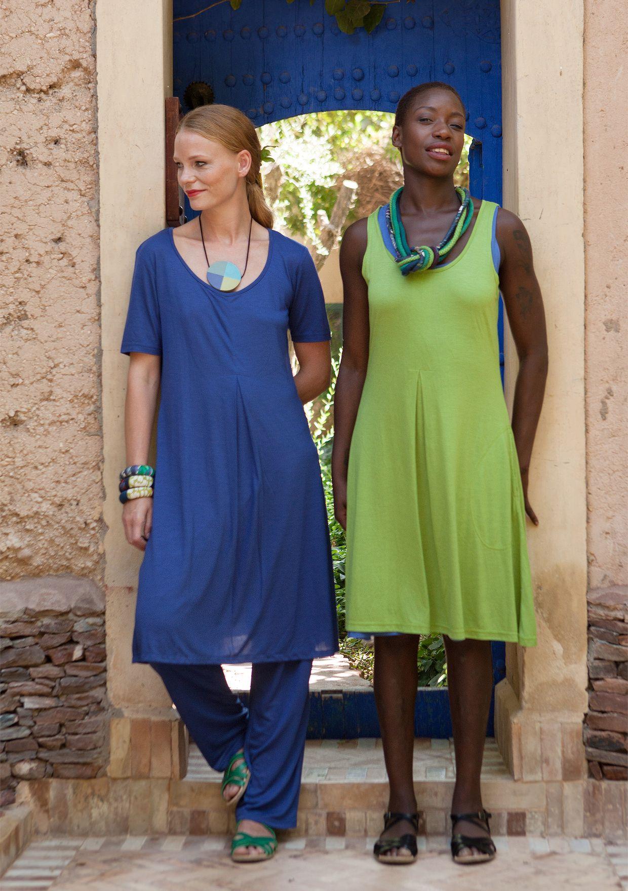 Kortærmet kjole i modal–Nederdele & kjoler–GUDRUN SJÖDÉN – Kläder Online & Postorder