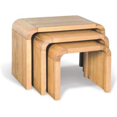 nest of 3 mid century oak side tables in 2019 inspiring spaces rh pinterest ca