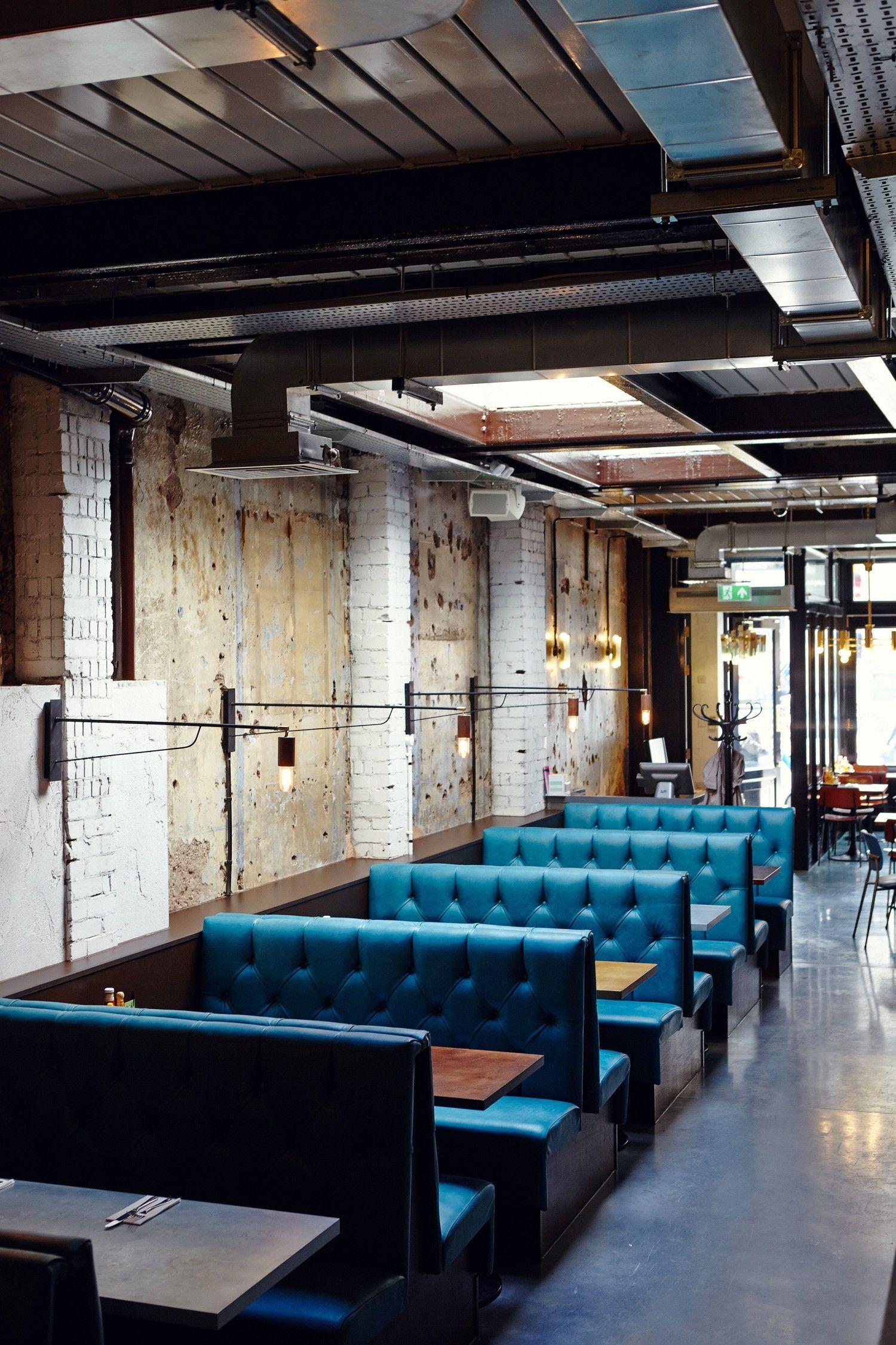 Michaelis boyd associates byron clapham pinteres for Diner interior