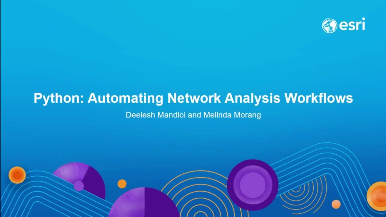 Python: Automating Network Analysis Workflows | Geospatial / GIS