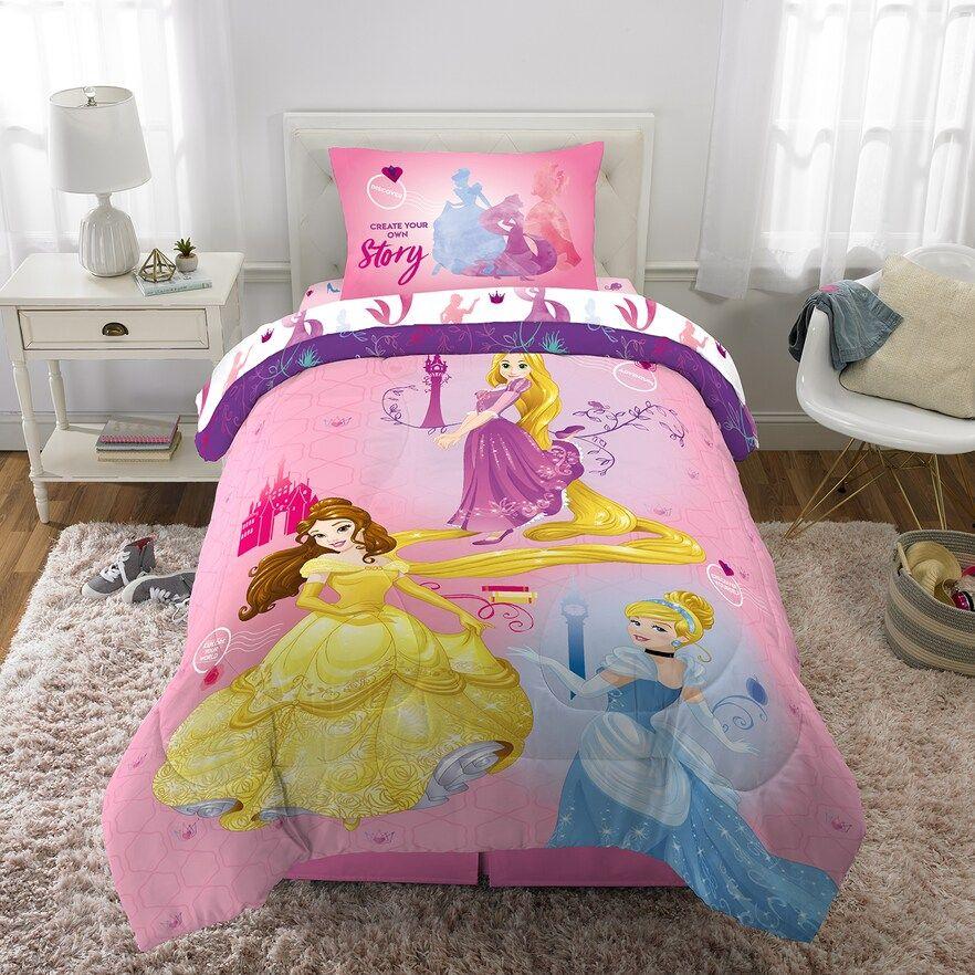 Disney S Princesses Ready To Explore 5 Piece Full Bed Set Disney