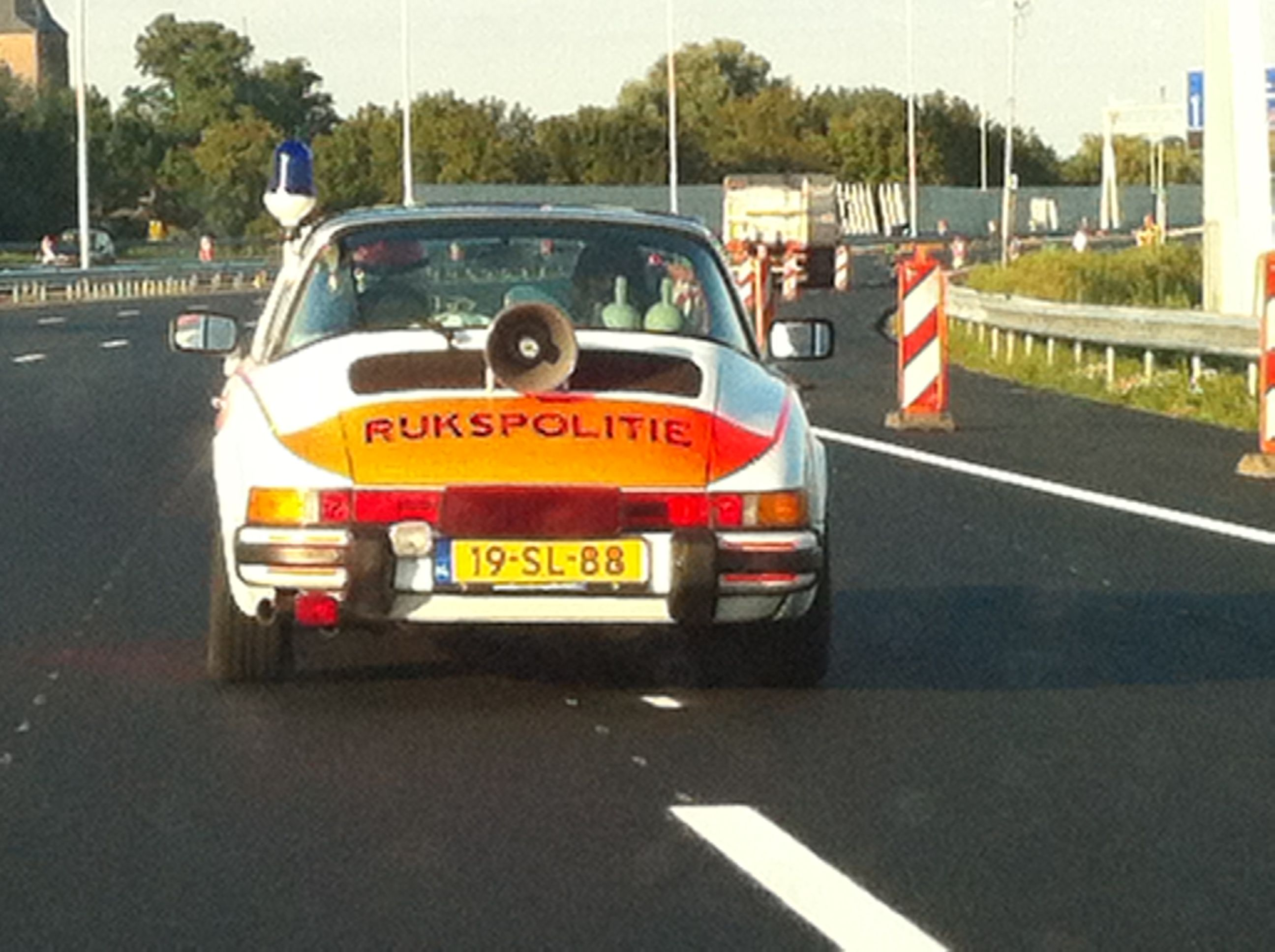 Old dutch police car