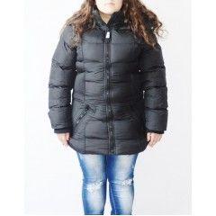Gekleurde Winterjas Dames.Een Warme Zwarte Waterafstotende Winterjas Voor De Dames 39 95