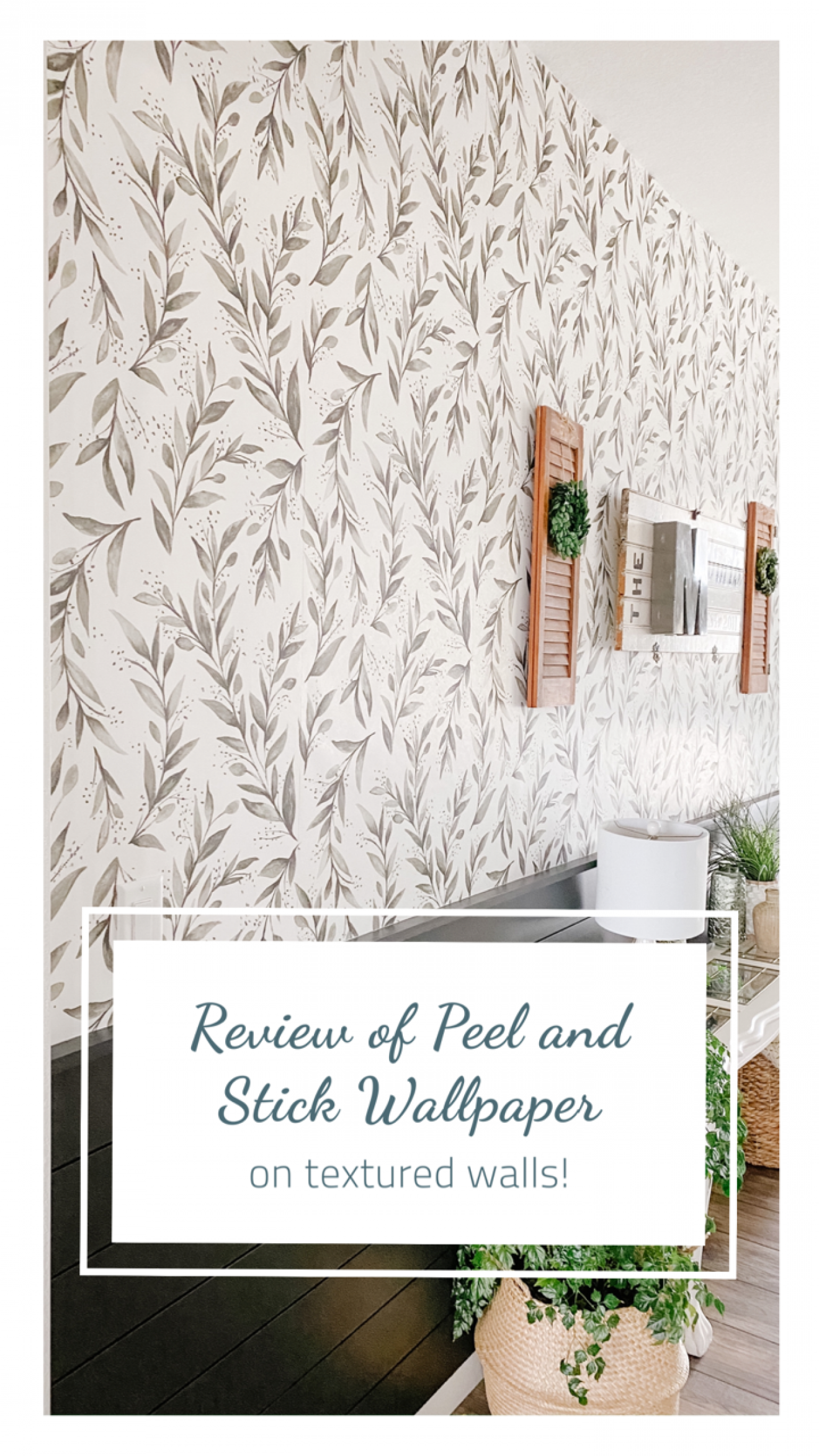 Review Of My Wallpaper On Textured Walls Sprucing Up Mamahood Textured Walls Feature Wall Wallpaper Diy Window
