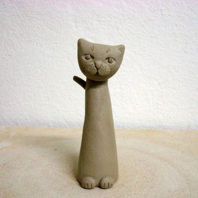 Tikin svet Kako oblikovati mačka? cats Pinterest Keramik