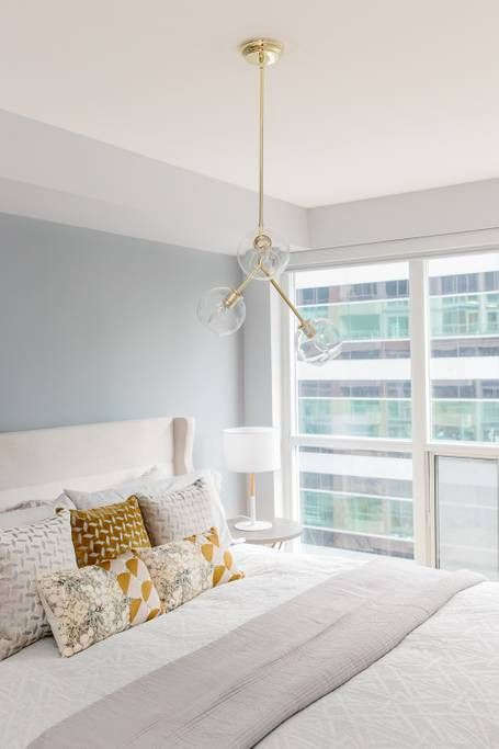 bright and airy bedroom inspiration downtown toronto airbnb rh pinterest com