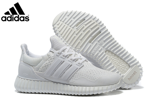 separation shoes 9c5ea fed46 Men's Adidas Ultra Boost X Yeezy Boost Running Shoes White,Adidas-Ultra  Boost Shoes