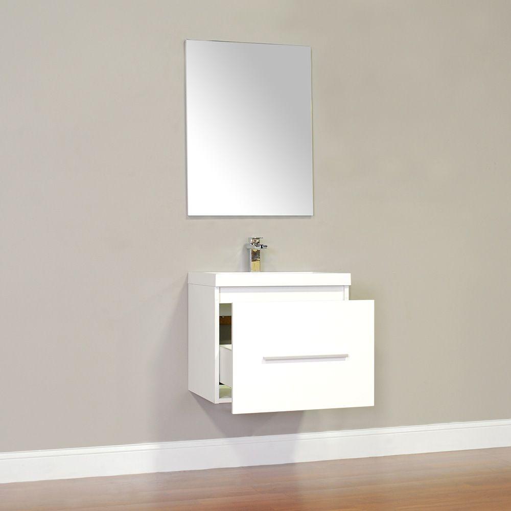 Alya At 8006 W Modern Bathroom Vanity White Alya Bath At 8006