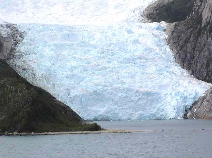 Patagonia Glacier Alley In The Beagle Channel Patagonia South