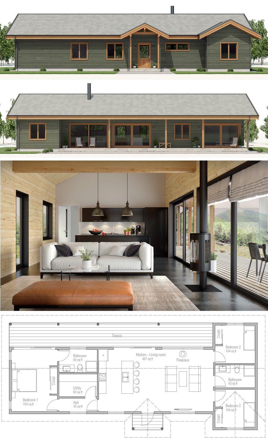 husplan litet hus huisplan husplan tiny house plans and layouts rh pinterest com