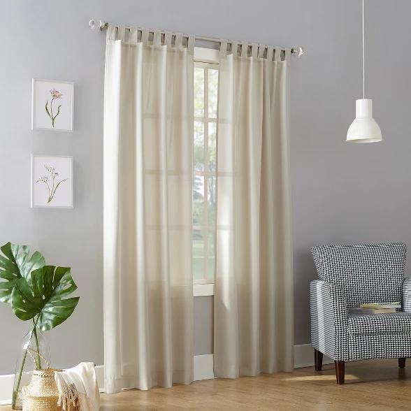0a22b7263614b7f211736e2d73222eec - Better Homes & Gardens Heathered Window Curtain Panel