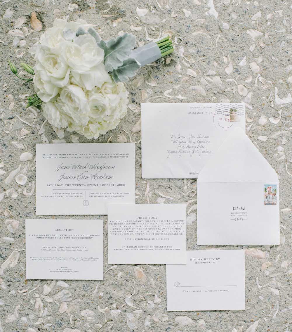 white-wedding-invitation-stationery.jpg (1000×1136) | A White ...