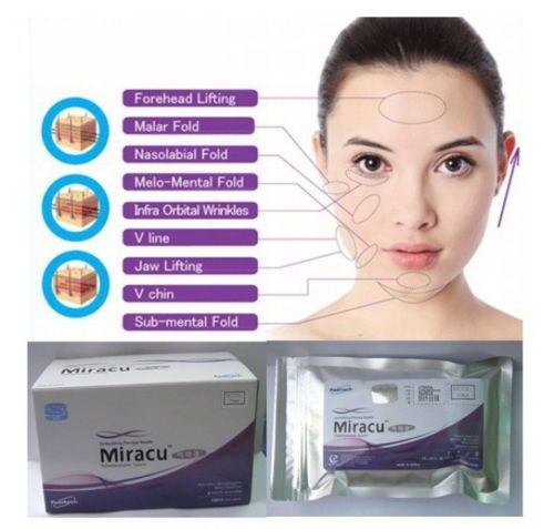 100 pcs MIRACU PDO THREAD LIFT KOREA FACE WHOLE BODY COG