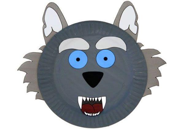 65 lavoretti con piatti di plastica per bambini le loup piatti