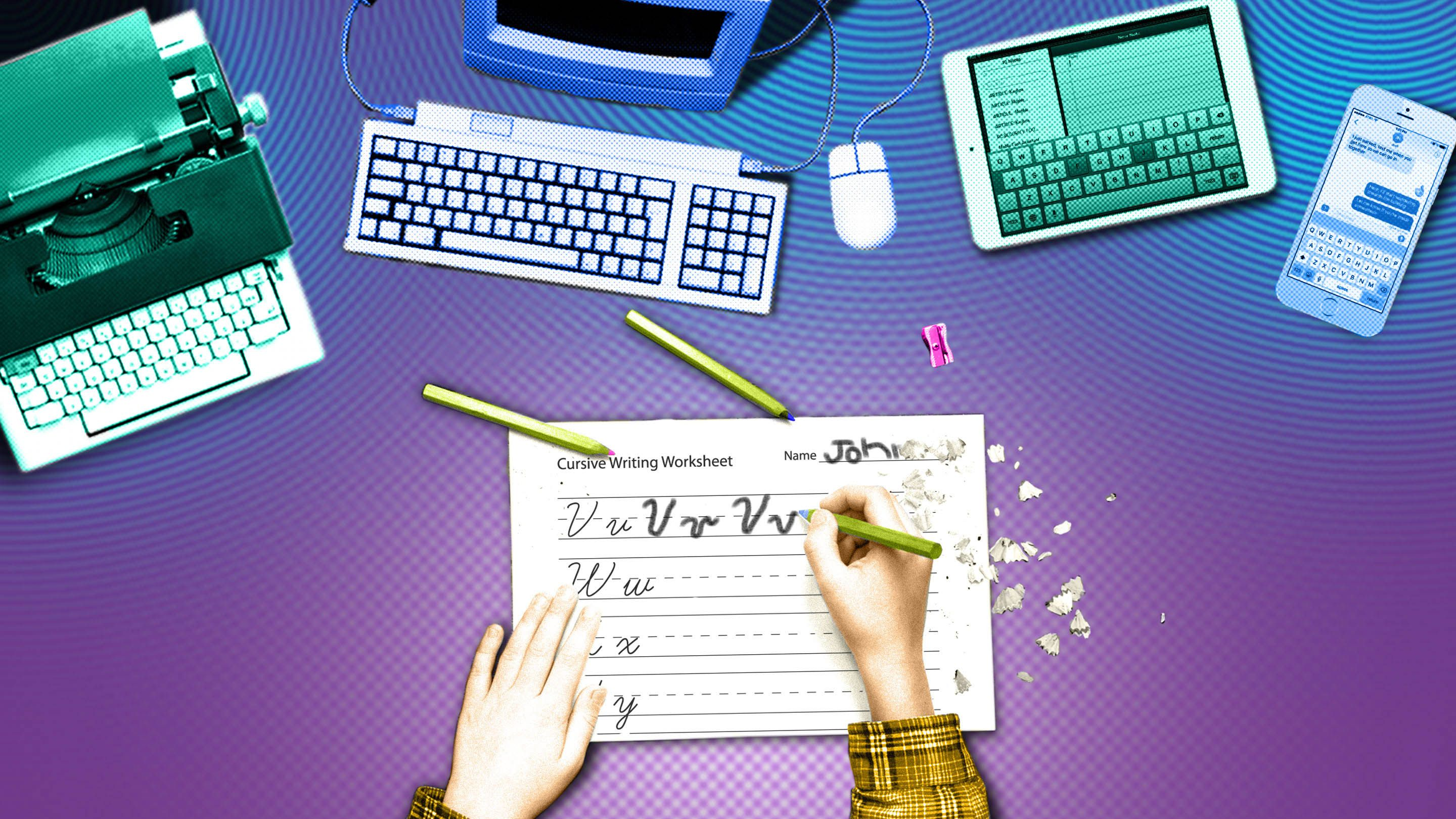What We Lose With The Decline Of Cursive