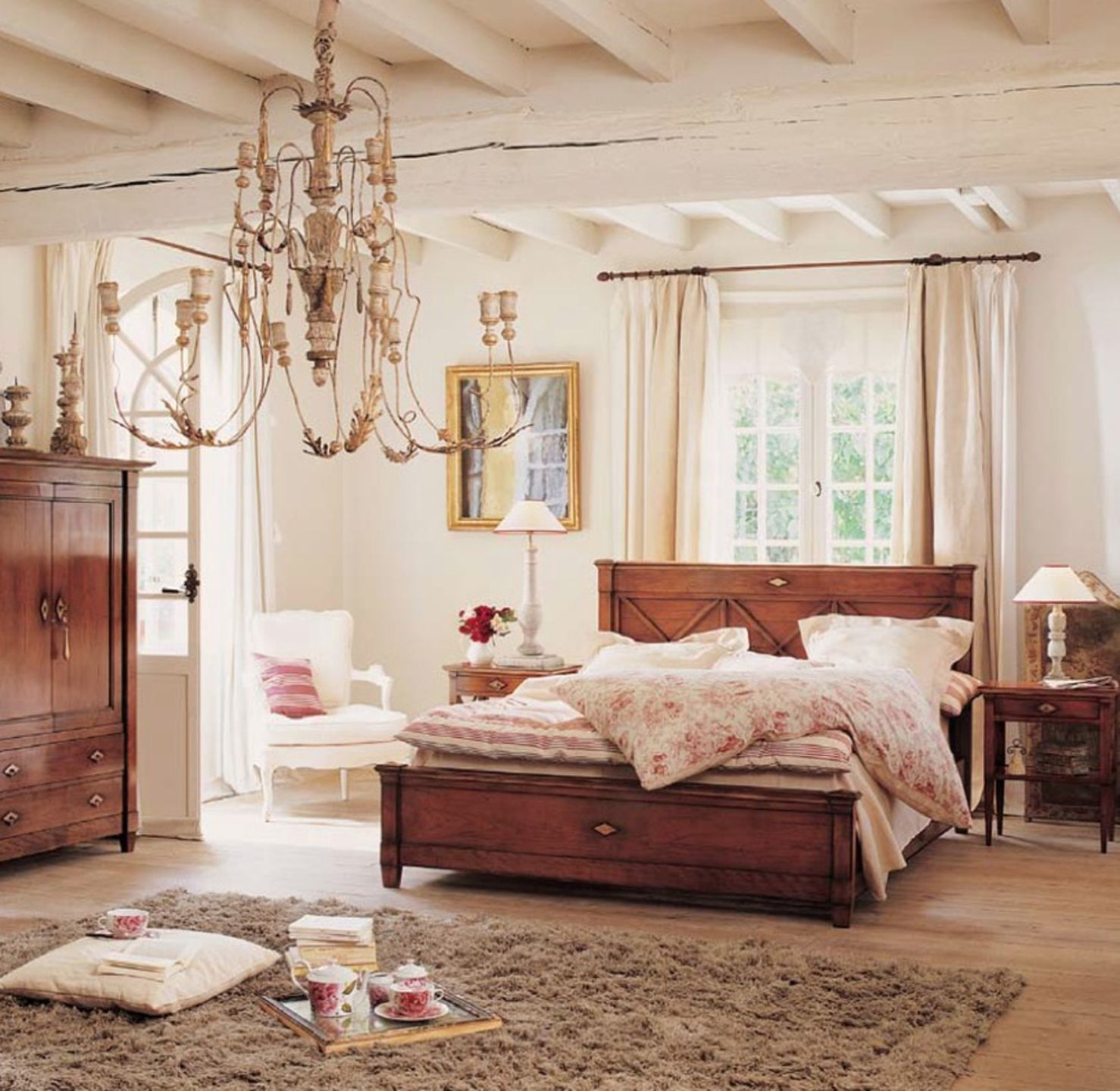 modern vintage bedroom ideas%0A Decorating French Country Bedroom Ideas Home Office Interiors For In French  Country Bedroom Ideas