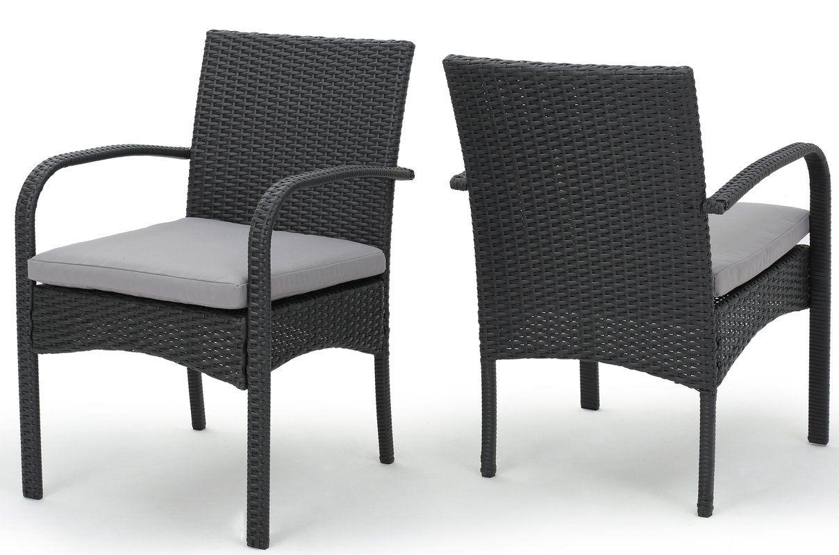 mayaguana patio dining chair with cushion 80 each porch deck at rh pinterest com