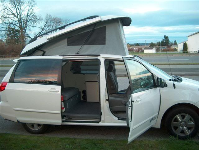 This Will By My Next Vehicle A Toyota Mini Van Converted To Pop