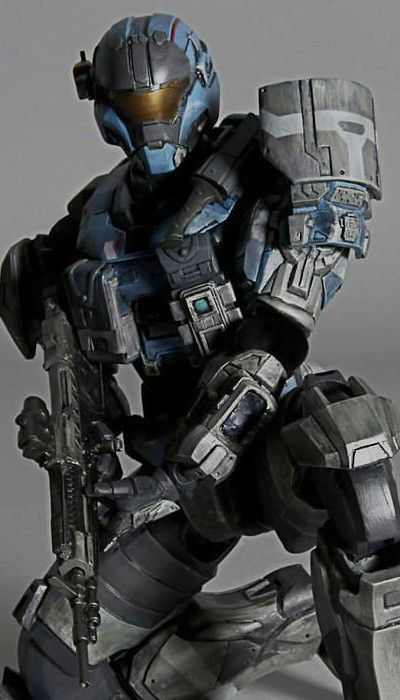 Play Arts Kai - Halo Reach Noble Team Commander Carter by ...