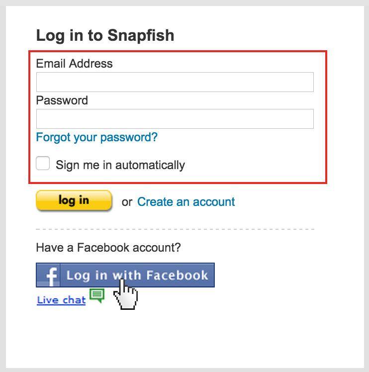 Snapfish Login Www Snapfish Com Photo Sharing Login