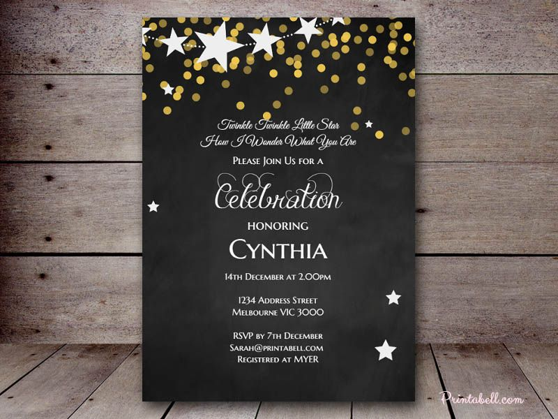 how early should you send out wedding shower invitations%0A Twinkle Twinkle Little Stars How I Wonder What You Are Gender Reveal Baby  Shower ideas  invitations  boy or girl  gender neutral baby shower theme  ideas