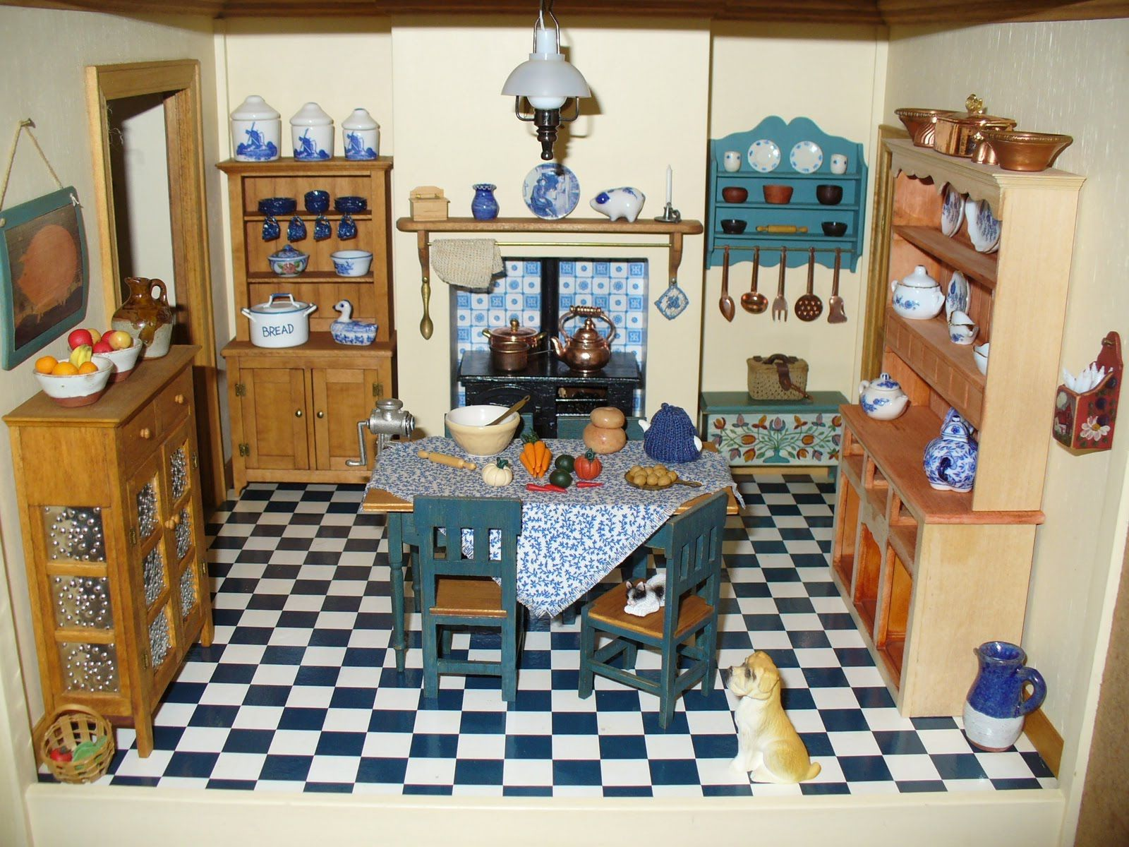 victorian dollhouses victorian dollhouse kitchen victorian rh pinterest com