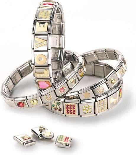 Nomination Bracelet Charms: Nomination Bracelet Links Catalogue