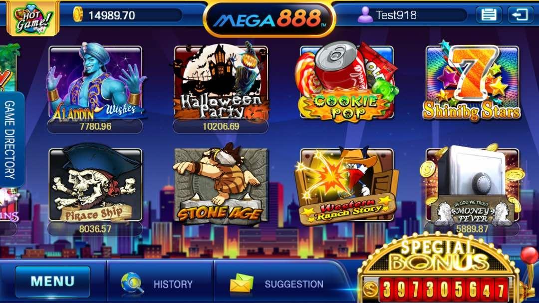 Mega888 [Updated] Download APK IOS | Online Register ...