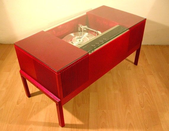 It S A Coffee Table It S A Record Player Furniture Inspiration Record Player Table Retro Record Player