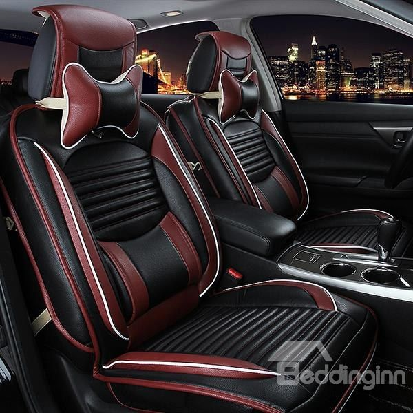 Classic Stylish Business Style With Comfort Sides Design Universal Car Seat Covers