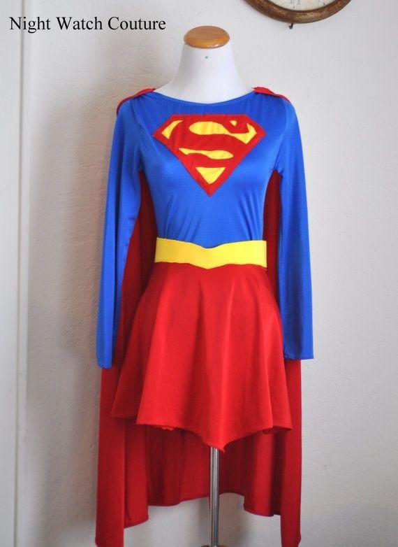 supergirl costume diy - Google Search … | Costume ideas | Pinte…