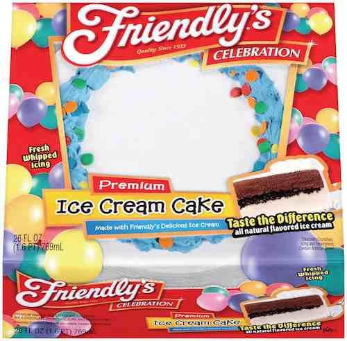 picture regarding Friendly's Ice Cream Coupons Printable Grocery identify $3.00 Off Just one Friendlys ® Ice Product Cake 32 oz or much larger