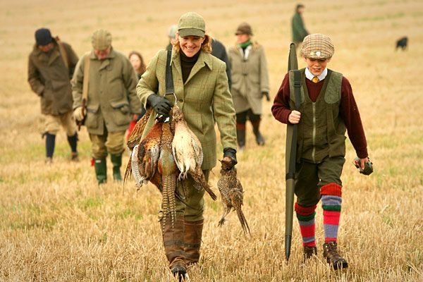 Pheasant Shooting  Hunting is a tremendously popular sport all over the United States, and as any enthusiast can tell you, the clothing, equipment and weapons can add up. Pheasant shooting brings it to another level; you need special firearms, and then you need to go where pheasant roam.   Packages with GunsOnPegs, the largest online shooting community in the U.K. that helps sell shooting trips in the U.K. and Europe, lists its most expensive pheasant shooting package at USD 4,084 per gun.