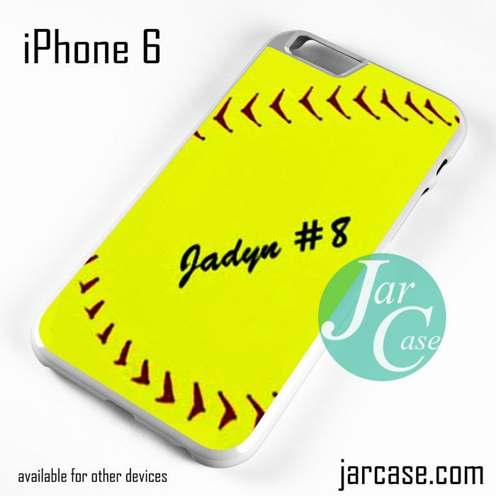 Softball 2 - Z Phone case for iPhone 6 and other iPhone devices