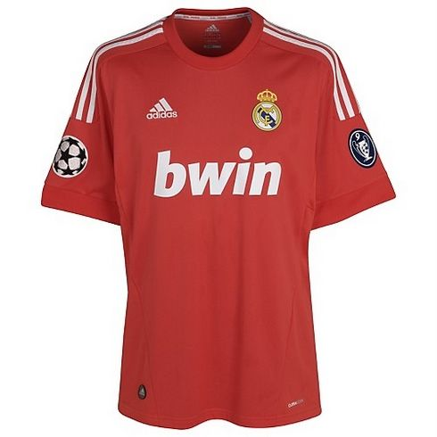 5e37ac3f2 Camiseta roja Real Madrid 2011 2012